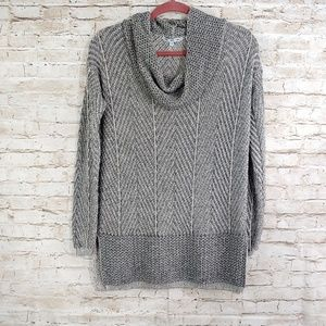 EIGHT EIGHT EIGHT COWL NECK SWEATER SZ MD